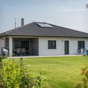 Přízemní atypický bungalov