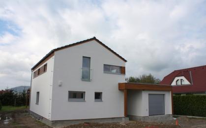 Realizace domu Kubis 632 s atypickou garáží