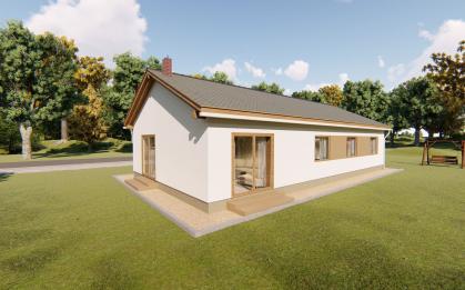 Largo 129 - atypický bungalov pro mladou rodinu